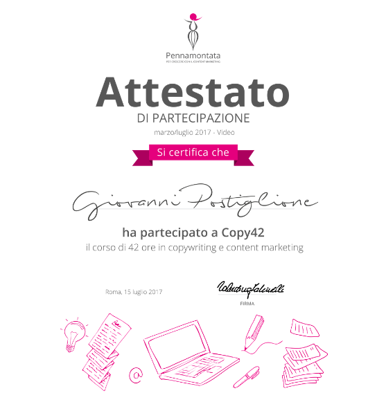 attestato Copy42 by Pennamontata