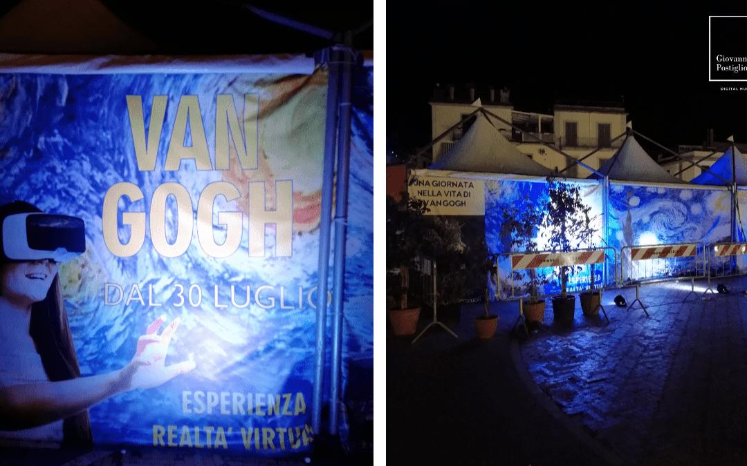 mostra realtà virtuale Van Gogh a Pozzuoli