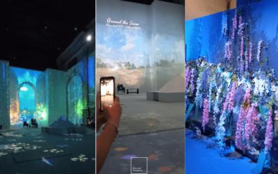 Monet experience a Napoli: colori virtuali sulla collina di San Potito