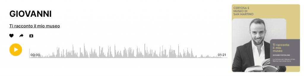 spreaker museo di san martino podcast giovanni postiglione
